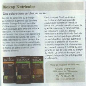 Article de presse Biokap